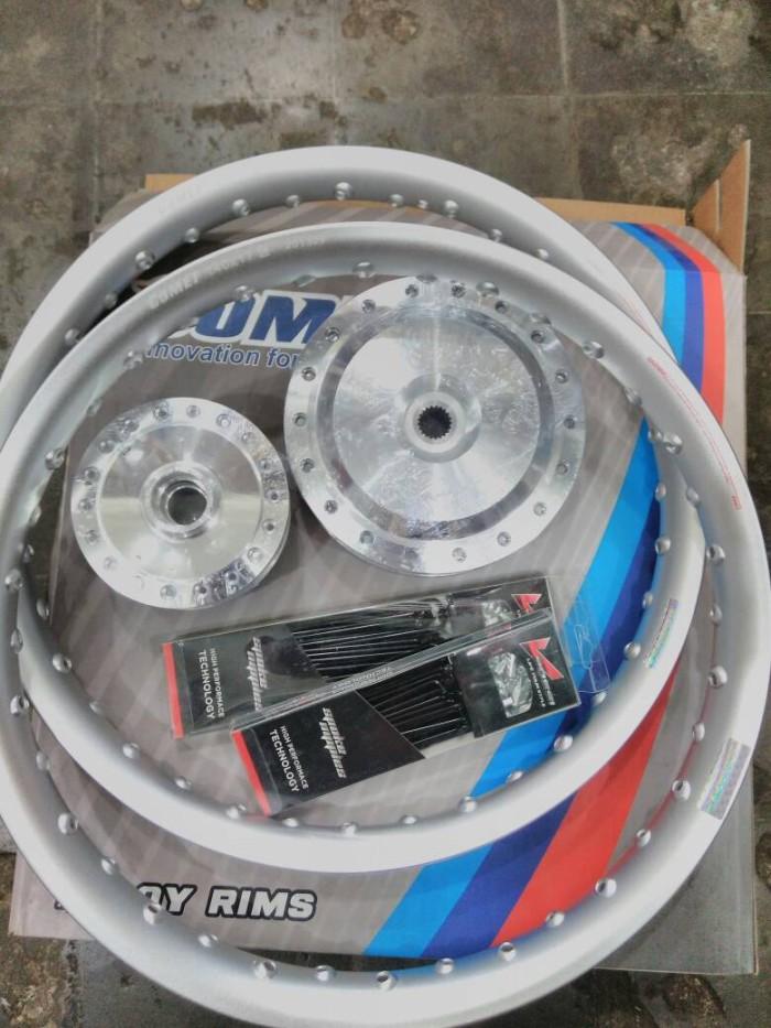 harga Set Velg Comet Alumunium Ring 17 Matic Mio Beat Vario U-shape Tokopedia.com