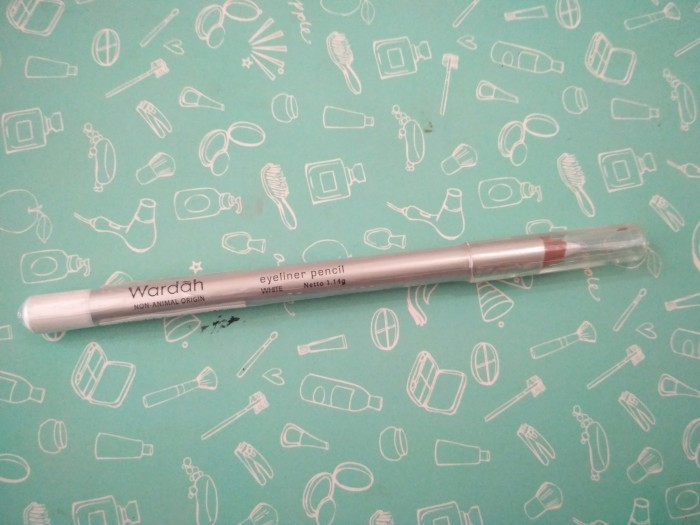 Wardah Eyeliner Pencil White