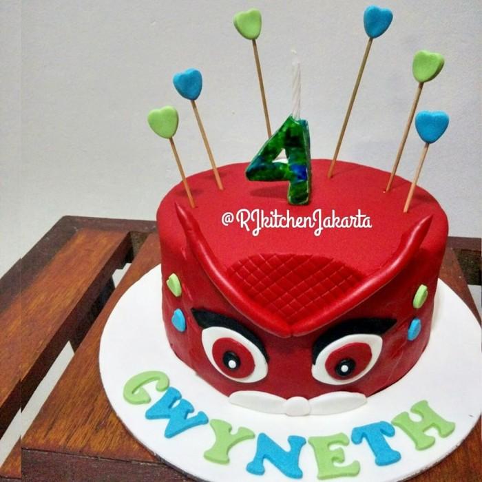 harga Owlette cake/kue owlette/pj masks Tokopedia.com