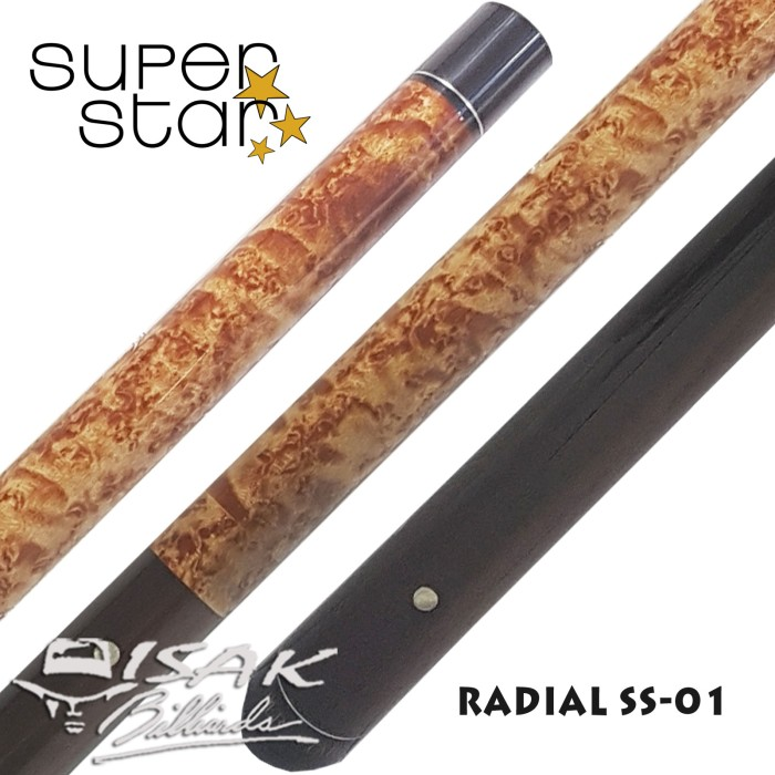 harga Super star cue - radial ss-01 - billiard stick stik biliar pool maple Tokopedia.com