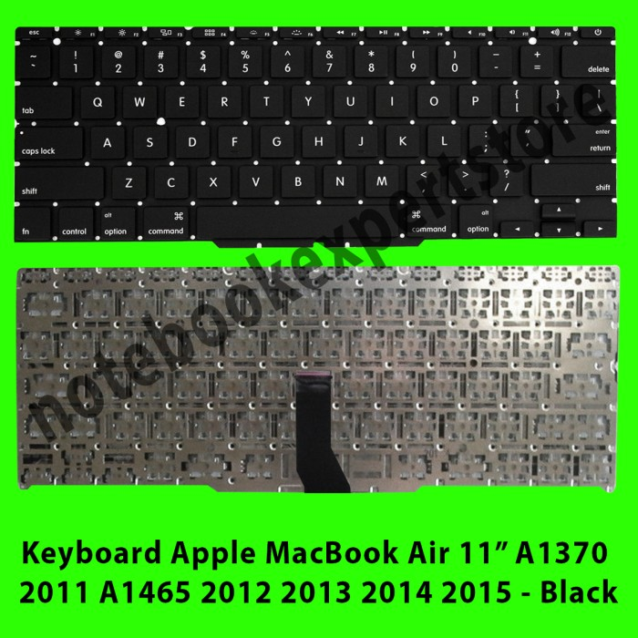 harga Keyboard apple macbook air 11 a1370 2011 a1465 2012 2013 2014 2015 Tokopedia.com