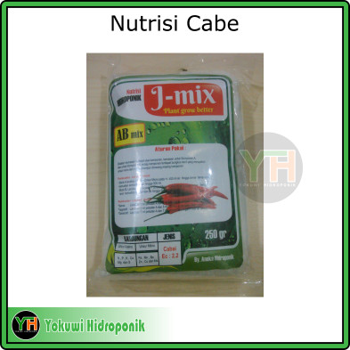 Pupuk/ Nutrisi Cabe/ Nutrisi AB Mix/ Hidroponik/ Nutrisi Pekatan 500ml