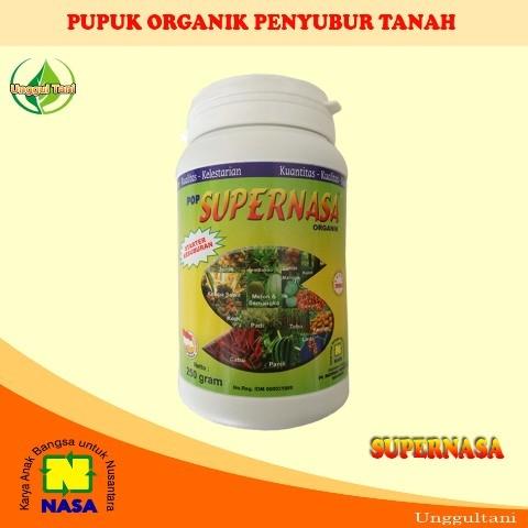 harga Pop supernasa pupuk organik padat nasa penyubur tanah alami 250 gr Tokopedia.com