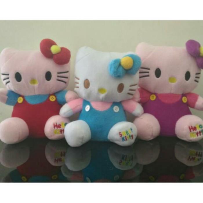 harga Boneka hello kitty murah - boneka lucu - hello kitty - kado ultah Tokopedia.com