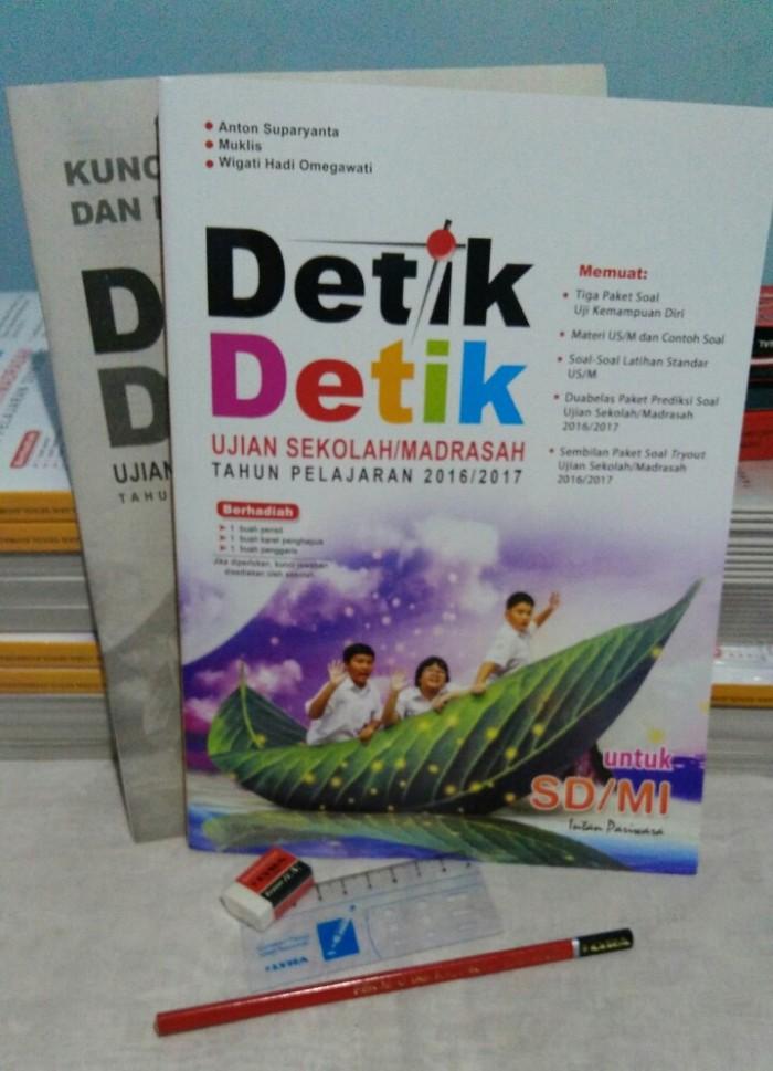 Jual Buku Detik Detik Ujian Nasional Sd Terbaru Th 2017 Pt Intan Pariwara Diaz Shop Depok