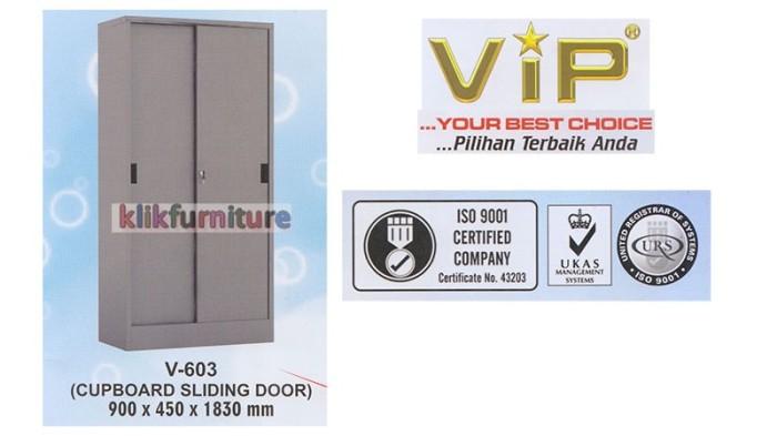 harga Vip 603 lemari besi sliding Tokopedia.com