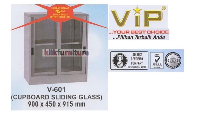 harga Vip 601 lemari besi sliding pendek Tokopedia.com