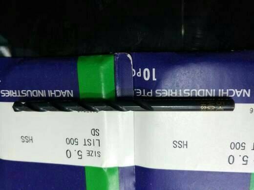 harga Mata Bor Besi 5mm Nachi Tokopedia.com