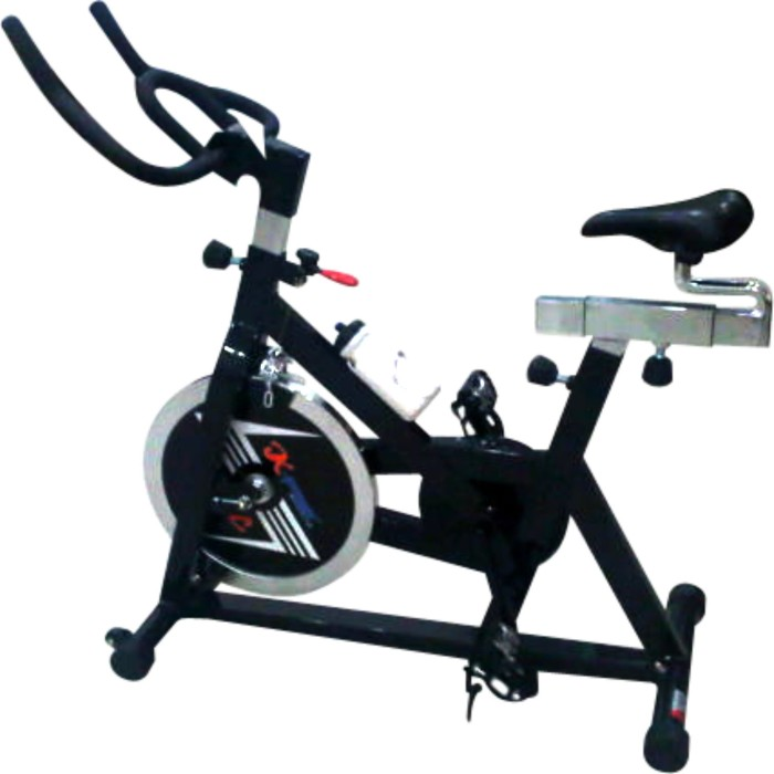 Home Gym Bekas: Jual Sepeda Statis Spinning Bike Hitam Harga Murah NEW
