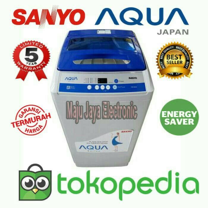 harga Mesin Cuci 1 Tabung Sanyo Aqua 99xtf 9kg Tokopedia.com