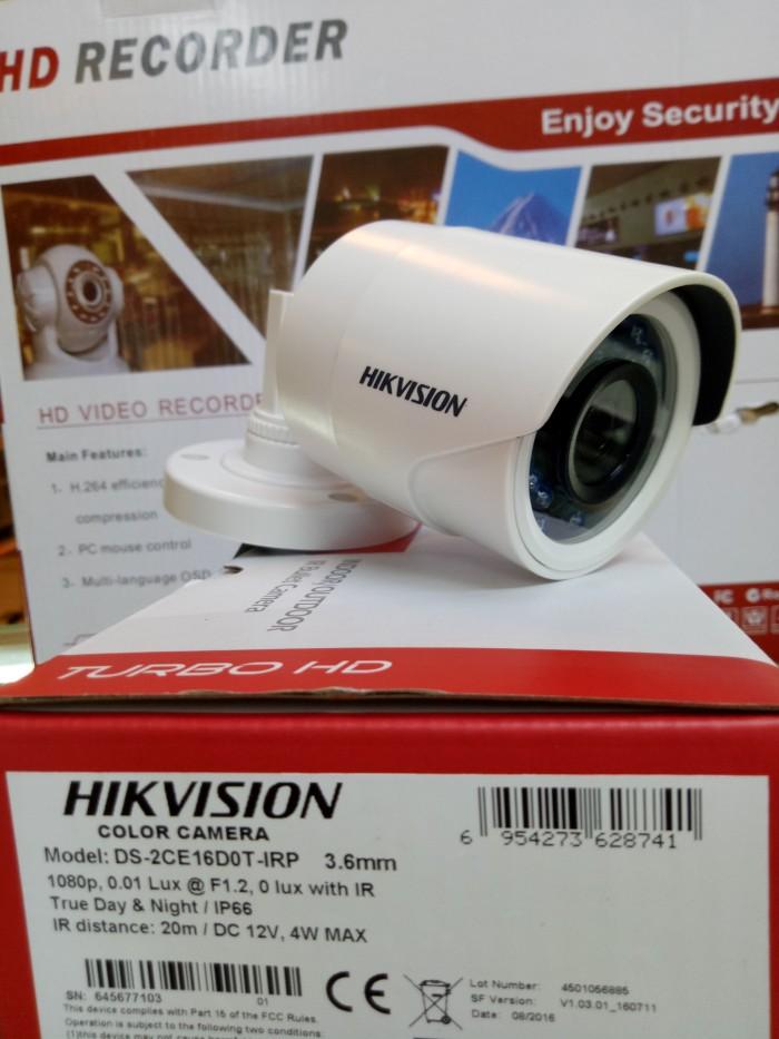 harga Hikvision 1080p 2mp outdoor tipe ds-2ce16dot-irp Tokopedia.com