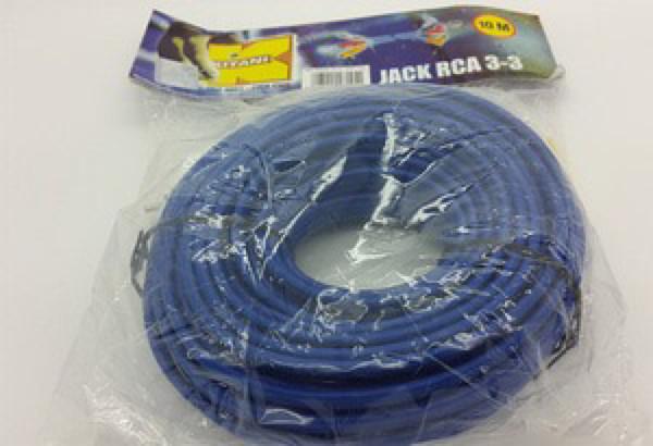 harga Kabel rca 3 ke 3 male kitani ( cable rca) 10 meter Tokopedia.com