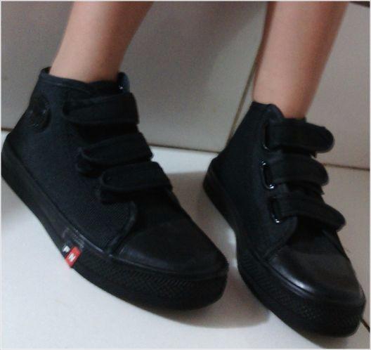 Sepatu Sekolah Anak Laki-laki SD Warna Hitam