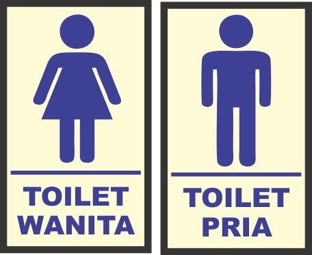 Jual sticker toilet - Kota Surabaya - zero sticker2