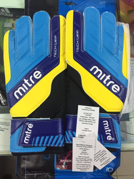 harga Sarung tangan mitre magnetite original blue kiper gloves Tokopedia.com