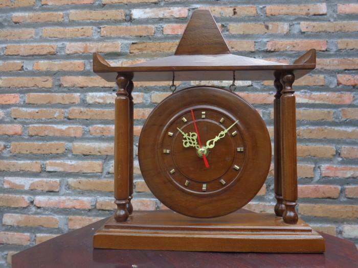 harga Jam meja unik gong / rumah joglo kayu jati Tokopedia.com