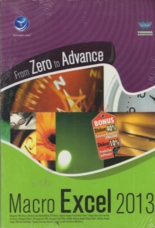 harga From zero to advance macro excel 2013 Tokopedia.com