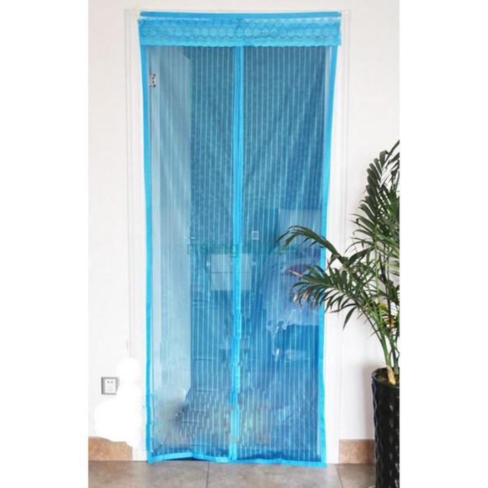 harga Flies magnetic stripe soft screen curtain door / pintu magnet Tokopedia.com