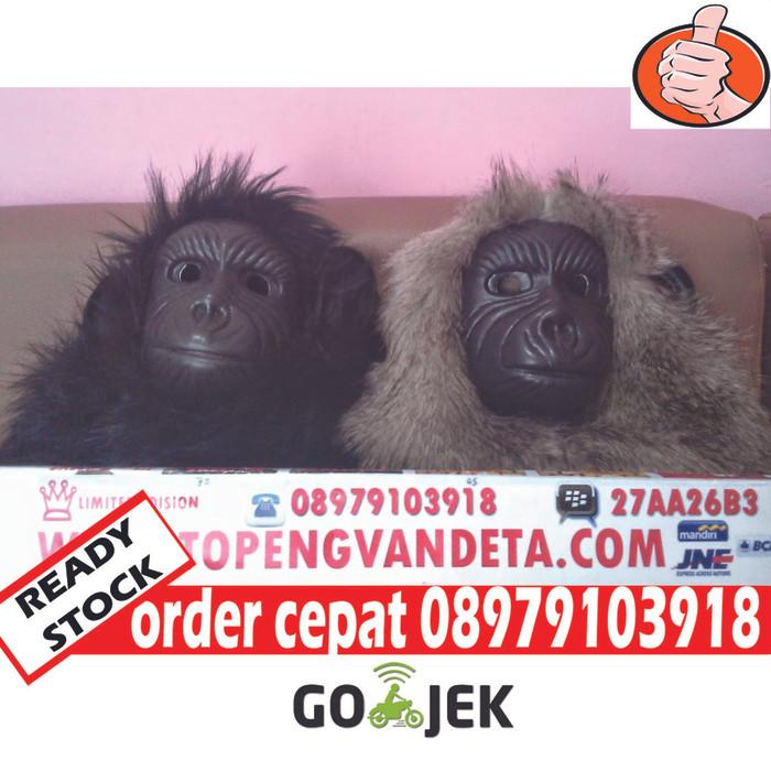 harga Topeng gorila topeng monyet topeng urbex topeng kingkong Tokopedia.com