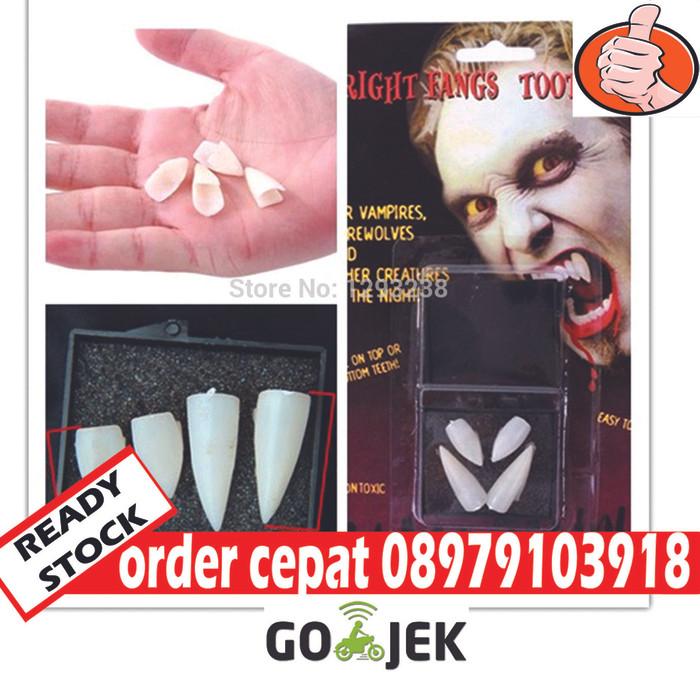 harga Gigi vampire gigi drakula fangs vampire Tokopedia.com