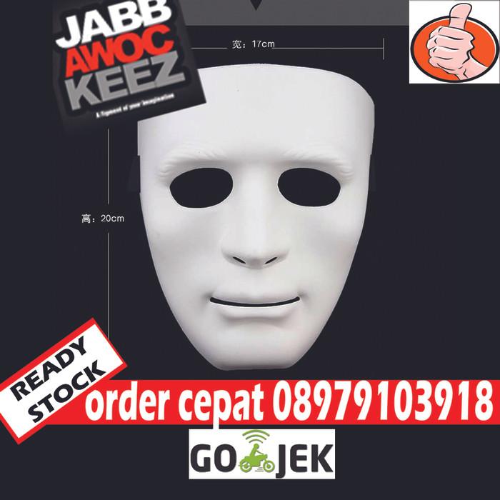 harga Jabbawockeez robotic topeng polos Tokopedia.com