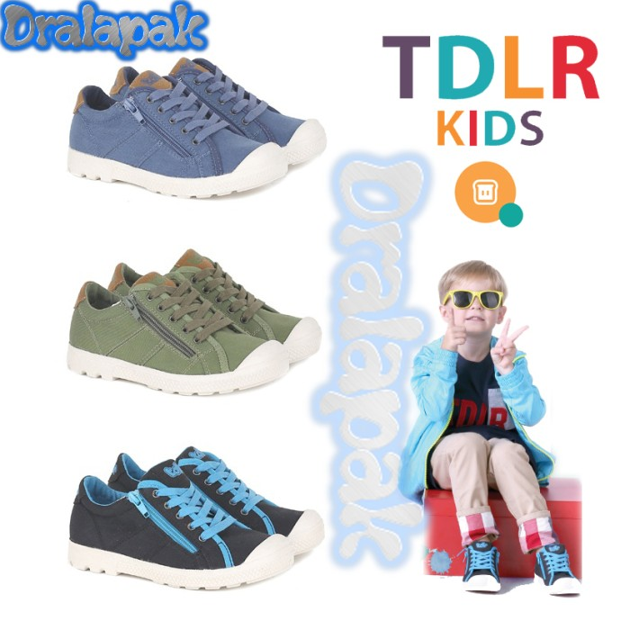 Jual Sepatu Boots Casual Anak Laki Laki Distro TDLR 5361 - dralapak ... bfa53dab67