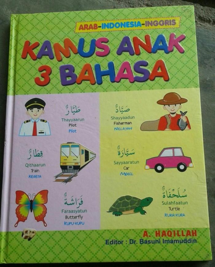 harga Buku kamus anak 3 bahasa arab indonesia inggris Tokopedia.com