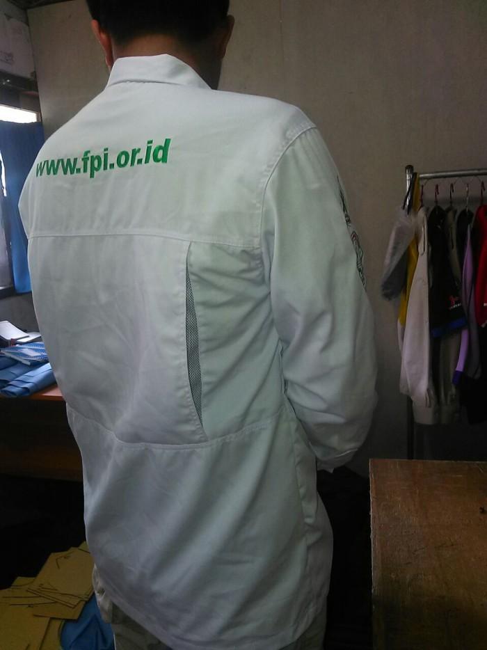 Jual Kemeja Outdoor Fpi Front Pembela Islam Dki Jakarta