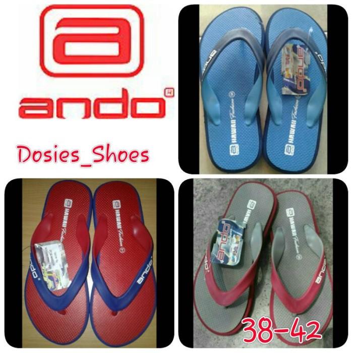 harga Sandal jepit pria / ando fashion Tokopedia.com