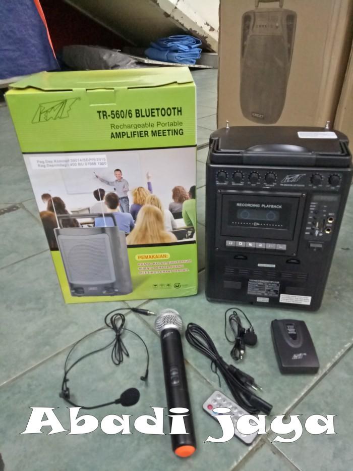 harga Murah!!! portable meeting wireless pewei 560/6 ( blutooth ) Tokopedia.com