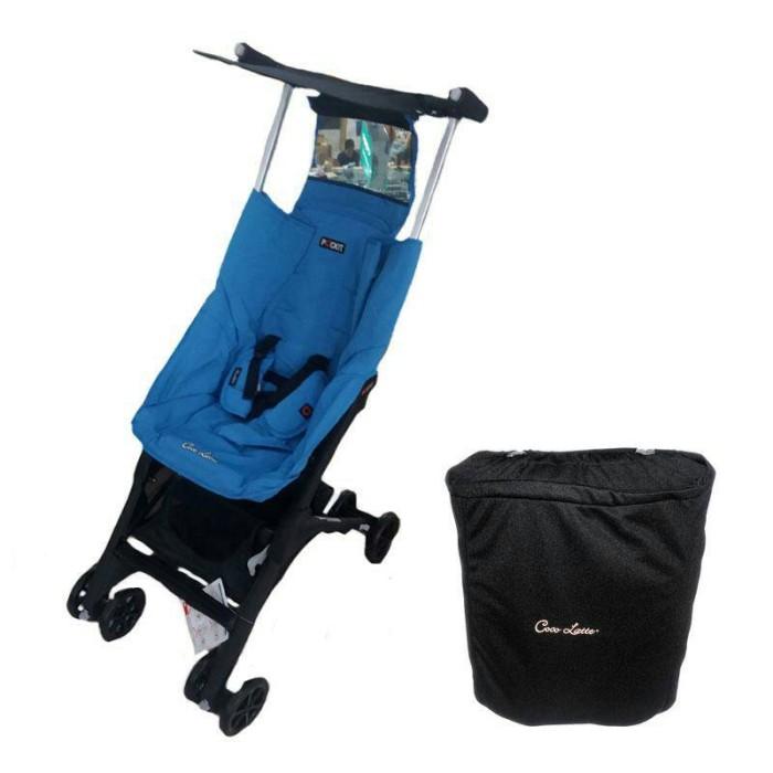 Kereta / Stroller Cocolatte 788 Pockit Cover D Blue