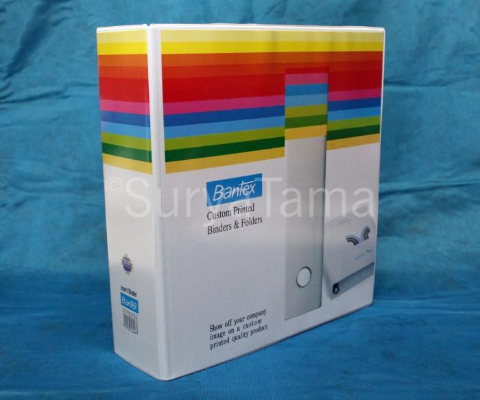 Foto Produk Bantex Ordner A4 8562 07 65mm (White) dari Surya Tama