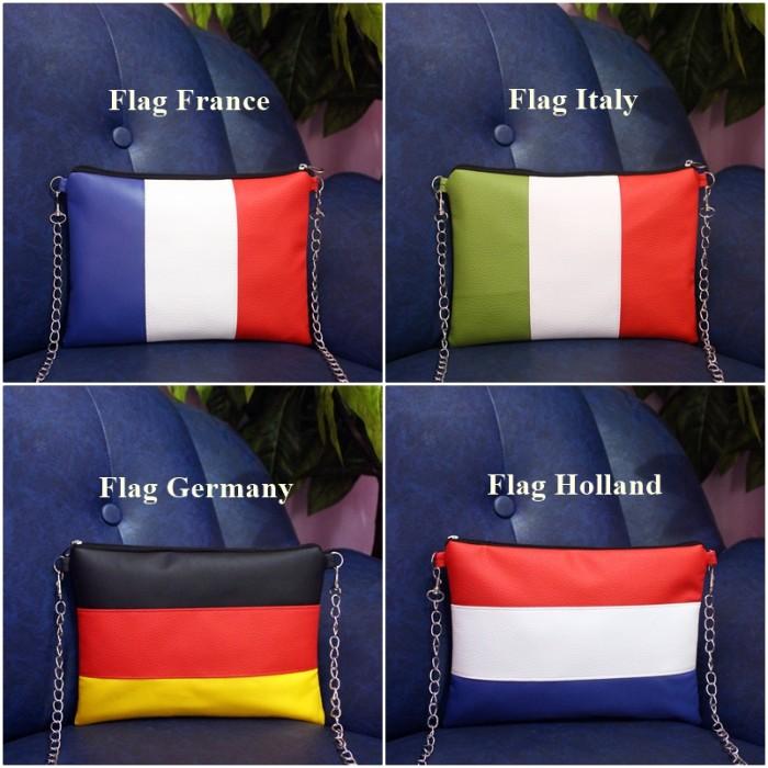 harga Sling bag flag | tas selempang wanita cewek | slingbag bendera Tokopedia.com