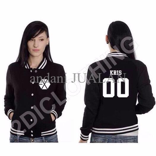 Jual Terlaris Sweater Varsity Exo Kris Sweater Kris Exo Member Varsity Jakarta Timur Andani Jualan Tokopedia