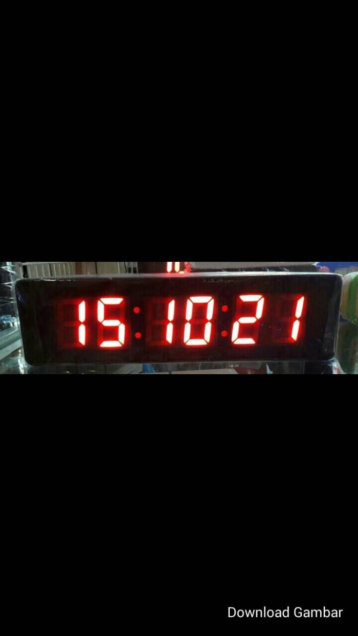 Jual Jam Dinding Digital Led Jh 828warna Merah Abidzar 75 Caixing Cx 2159  Terlengkap 3b0a308bc5