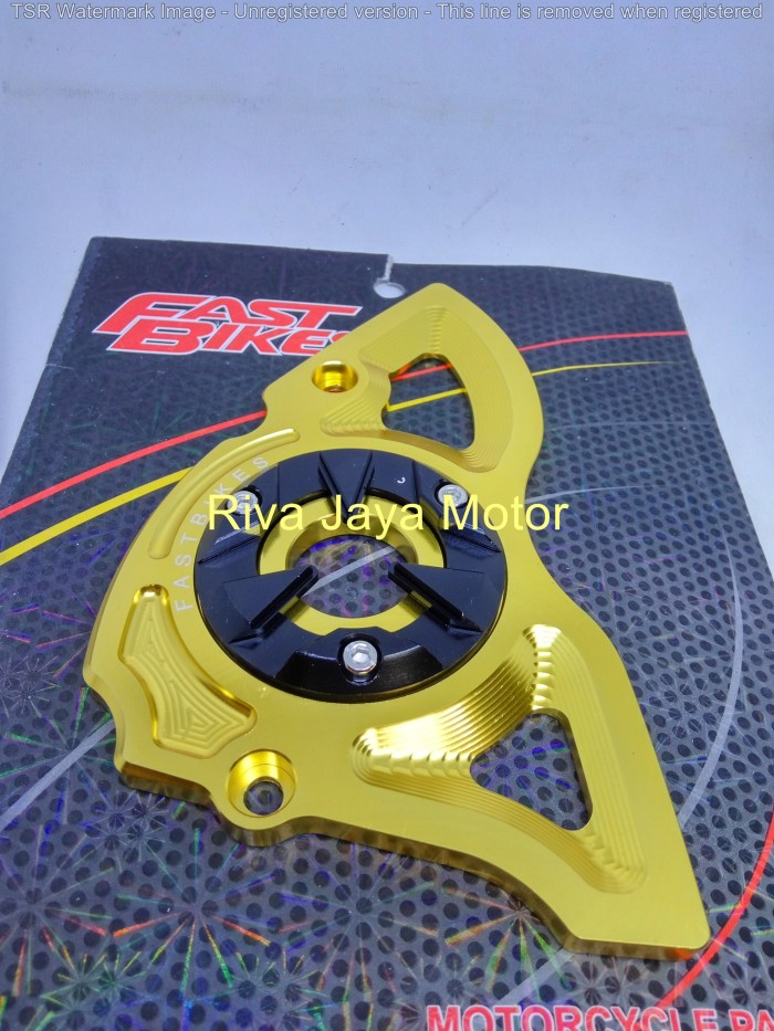 Tutup / cover gear gir depan cnc xabre vixion r15 mx mx king