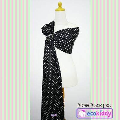 harga Gendongan samping ecokiddy baby sling cukin jarik bayi black dot Tokopedia.com