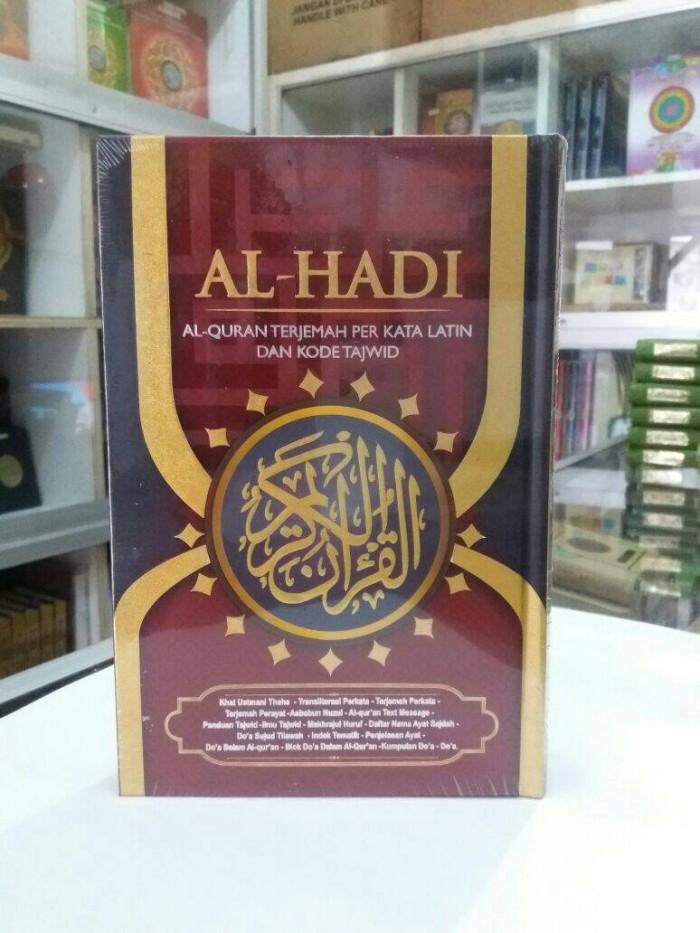 harga Alquran tajwid al-hadi al-quran arab-latin-terjemah per kata