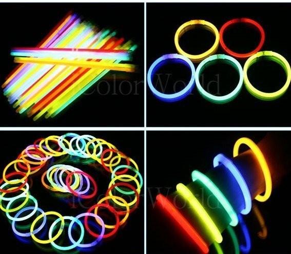 glow stick /Glow Stick Fosfor Light / gelang menyala isi 15 pcs