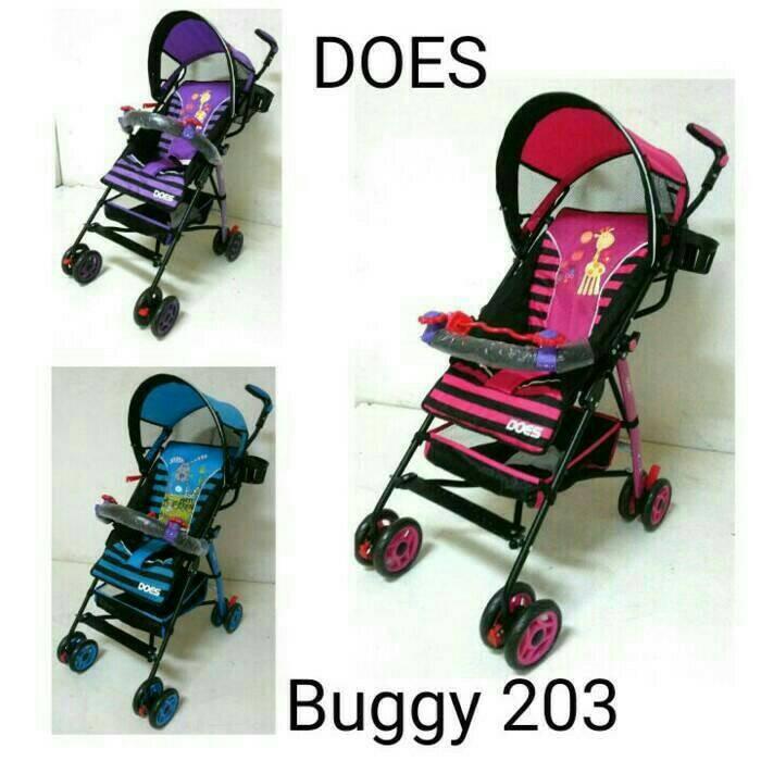 harga Stroller Babydoes Buggy 203 Khusus Gojek/gosend Tokopedia.com