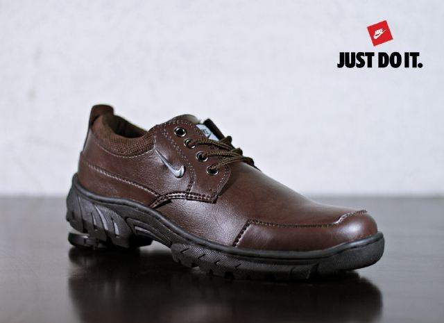 Harga Sepatu Pria Nike Trackers Brown Low Boots Kulit Tracking Hiking Kerja Tokopedia