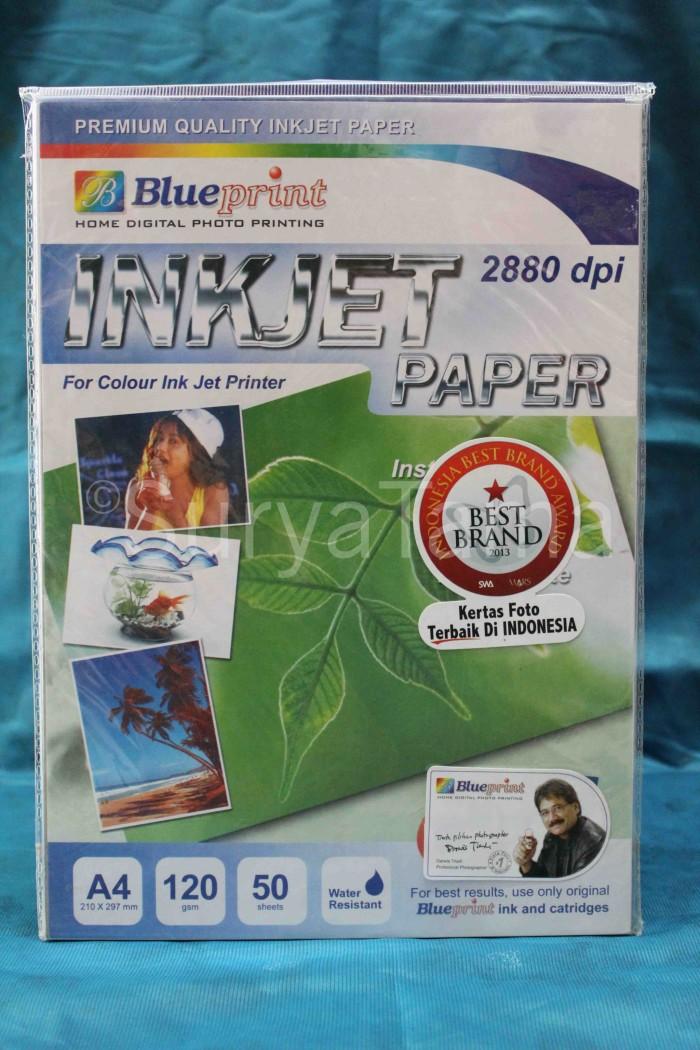 Jual blueprint inkjet paper a4 120gsm surya tama tokopedia blueprint inkjet paper a4 120gsm malvernweather Image collections