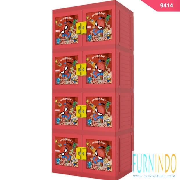 harga Lemari plastik naiba 9414 spiderman (3d kunci 4 susun) Tokopedia.com