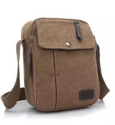 Tas Slempang Import Kanvas Militer / Slempang Messenger Shoulder Bag