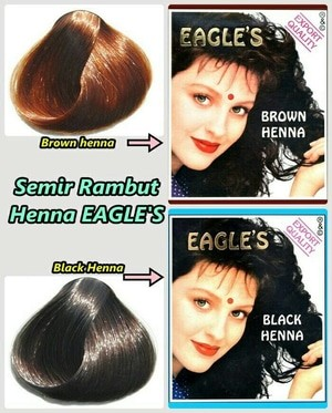 Jual Eagle Brown Henna Eagles Brown Henna Henna Brown