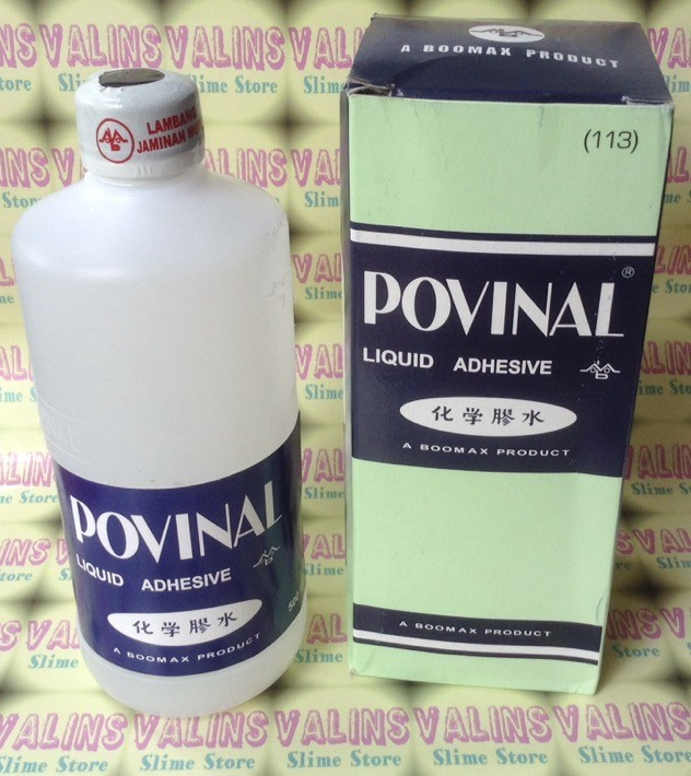 harga Lem slime povinal / clear glue 500ml Tokopedia.com
