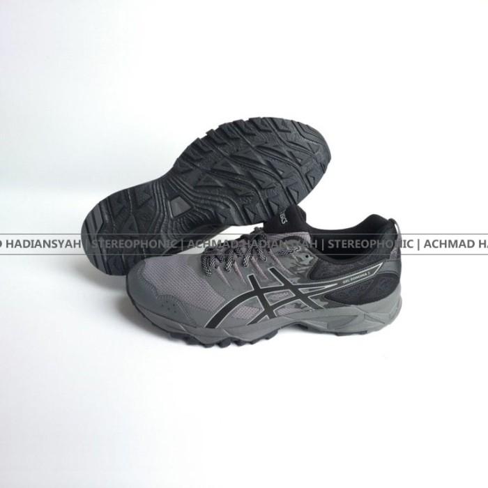 harga Sepatu big size asics gel sonoma 3 g-tx mens trail running shoes black Tokopedia.com