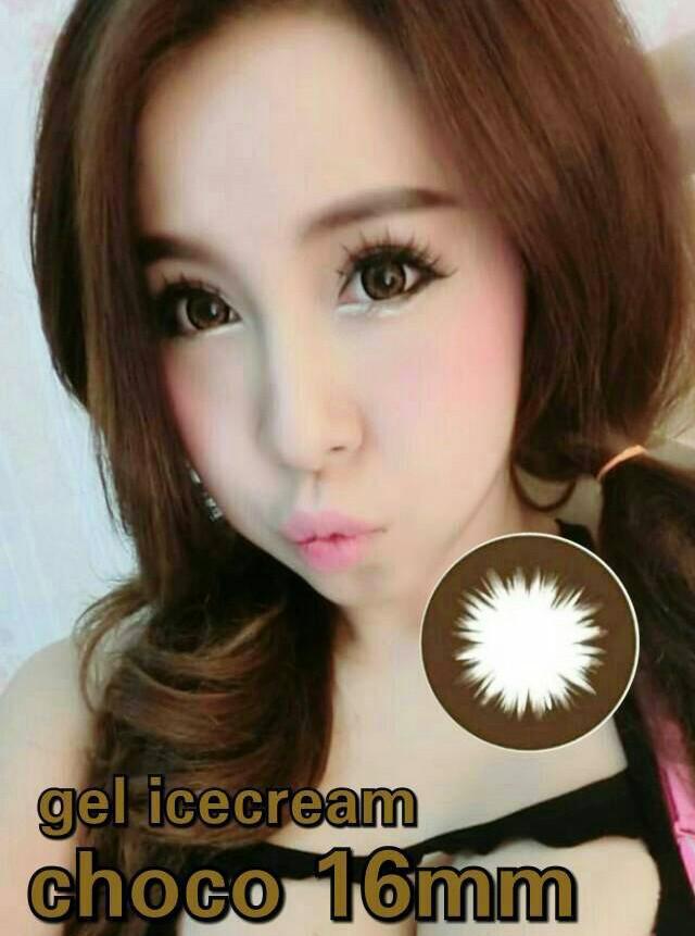 Gel Ice Cream Softlens + Gratis Lenscase