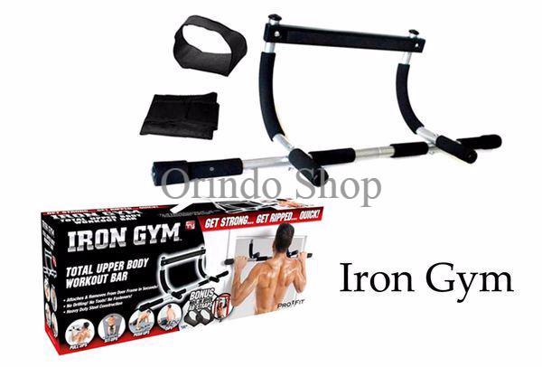 harga Iron gym (alat fitnes pull up/ angkat beban) alat olahraga spesial Tokopedia.com