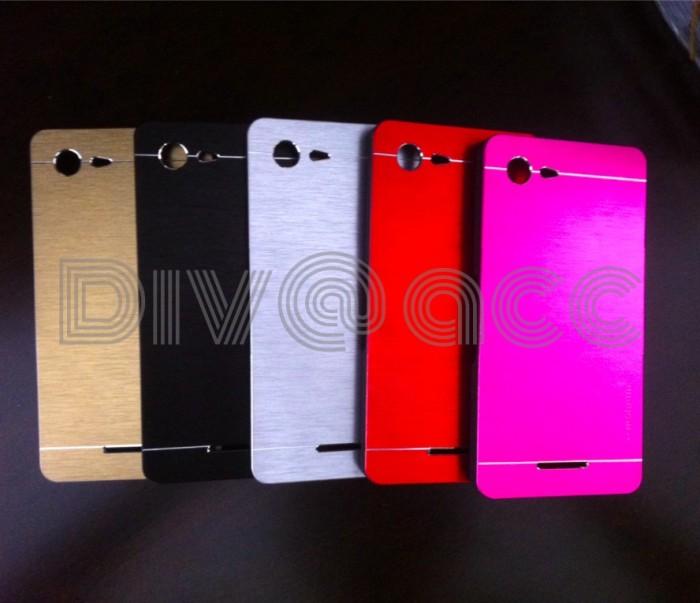 buy online 9ad9a 3c05c Jual Sony Xperia E3 Motomo Brushed Metal Back Case Hard Case Cover Casing -  DKI Jakarta - beliajasemua | Tokopedia